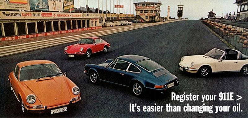 911E.org - The Porsche 911E Registry